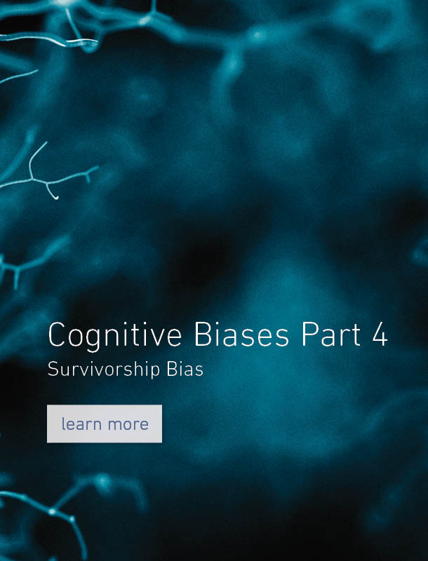 Cognitive Biases - Part 4 - Survivorship Bias