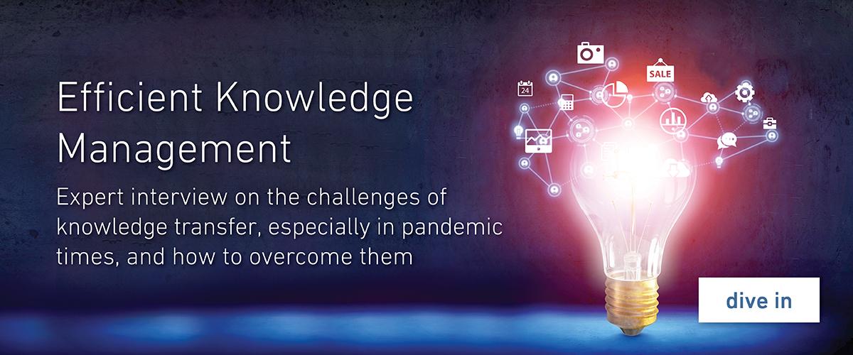 Efficient Knowledge Management