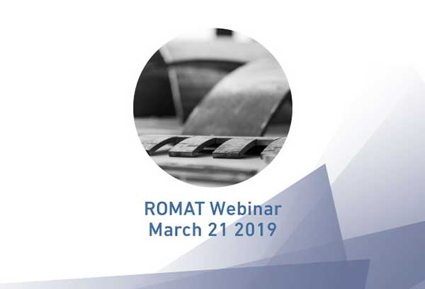 RoMat Webinar 2019