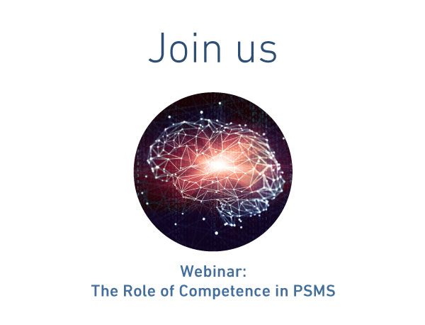 Webinar: The Role of Competence in PSMS